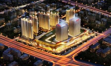 扬州万达广场机电安装工程